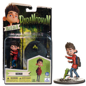 PARANORMAN NORMAN BABCOCK 4-INCH ACTION FIGURE WITH HAND BASE Preview