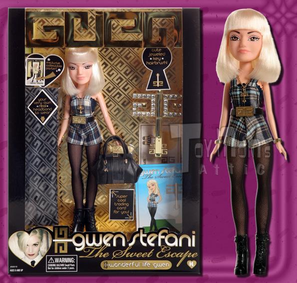 Gwen Stefani Fashion Dolls Sweet Escape Wonderful Life Ebay