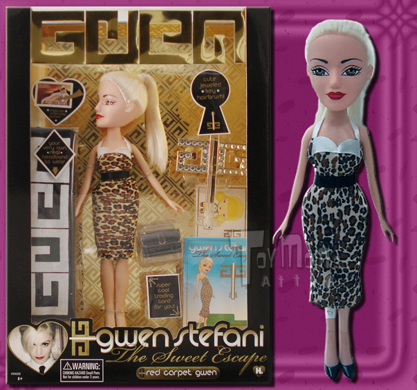 Gwen Stefani Fashion Dolls Sweet Escape Red Carpet Gwen Ebay