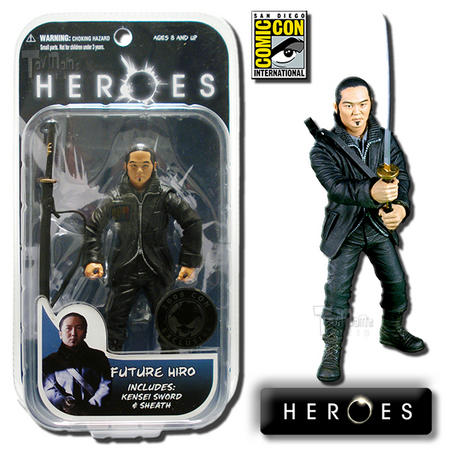 View Item Heroes Future Hiro 7-Inch Action Figure 2008 SDCC Exclusive - Mezco Toyz