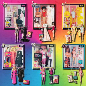 BARBIE - MY FAVORITE BARBIE - SET OF 6 Preview