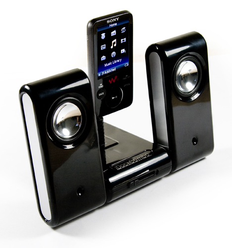 Vibe-Dock speaker for Microsoft Zune 80GB/120GB Preview