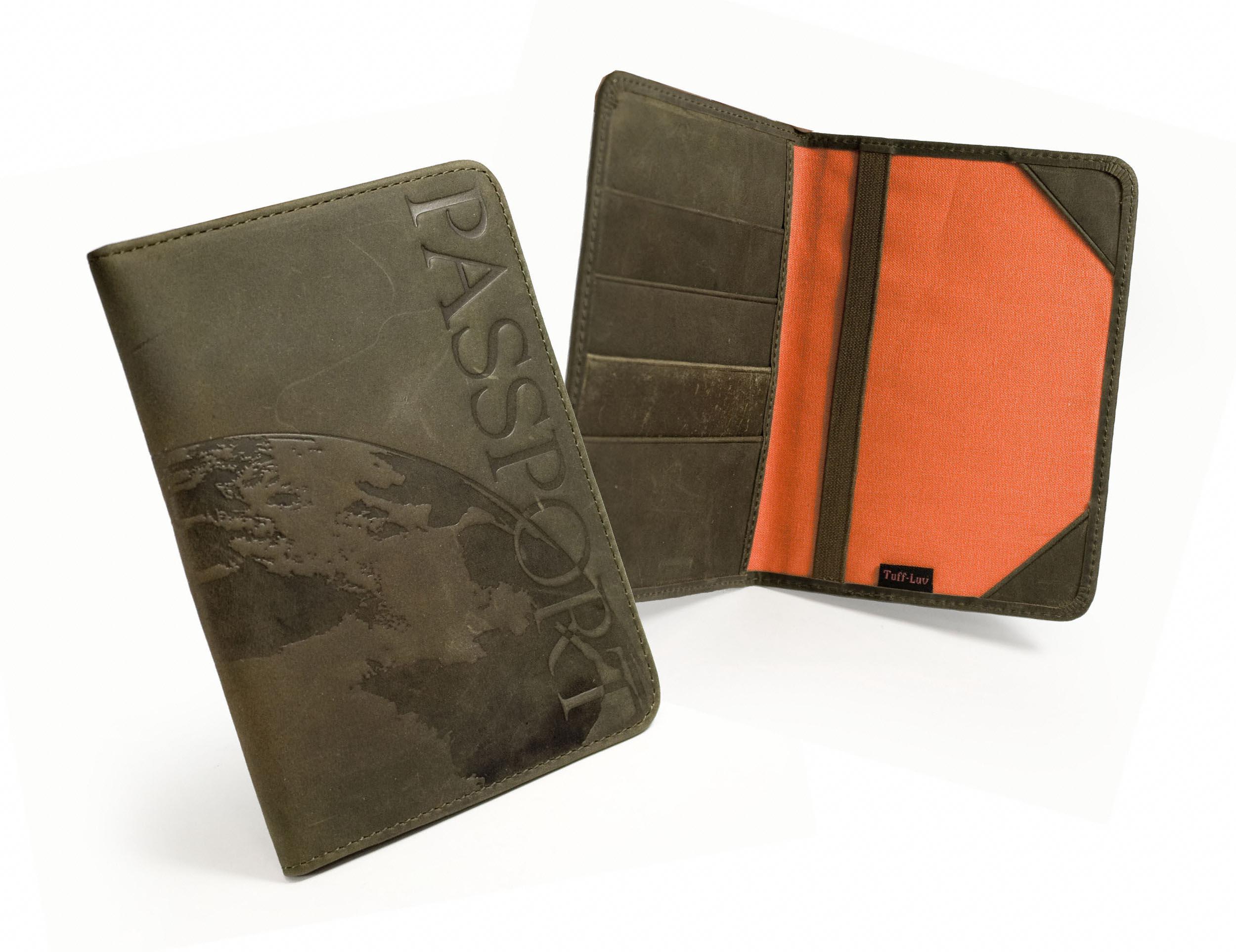 Details about saddleback leather passport wallet holder case brown