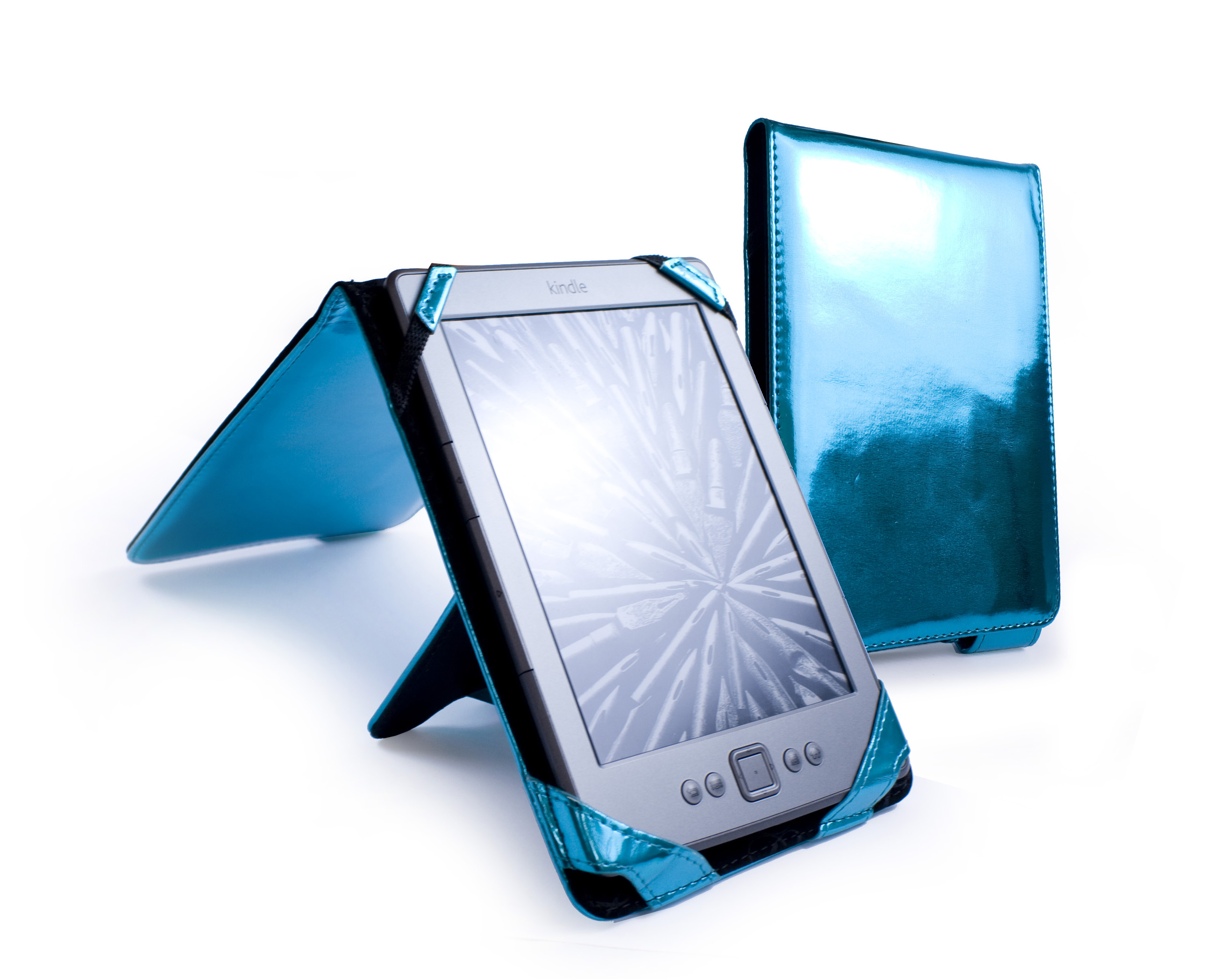 Tuff-Luv 'Bliss' leather case for Amazon Kindle 4 / 6