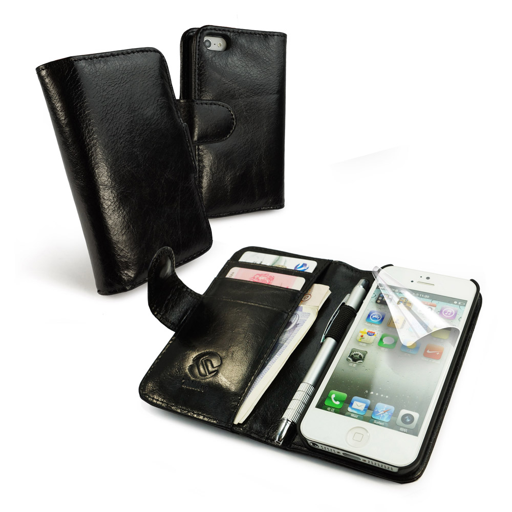 how to use iphone 5 wallet