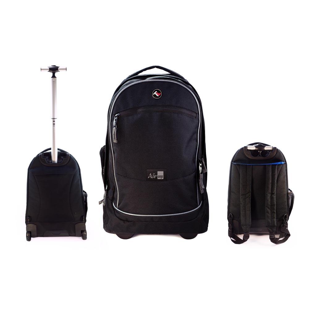tuff luv cabin approved air we go 15 laptop trolley bag rucksack ebay. Black Bedroom Furniture Sets. Home Design Ideas