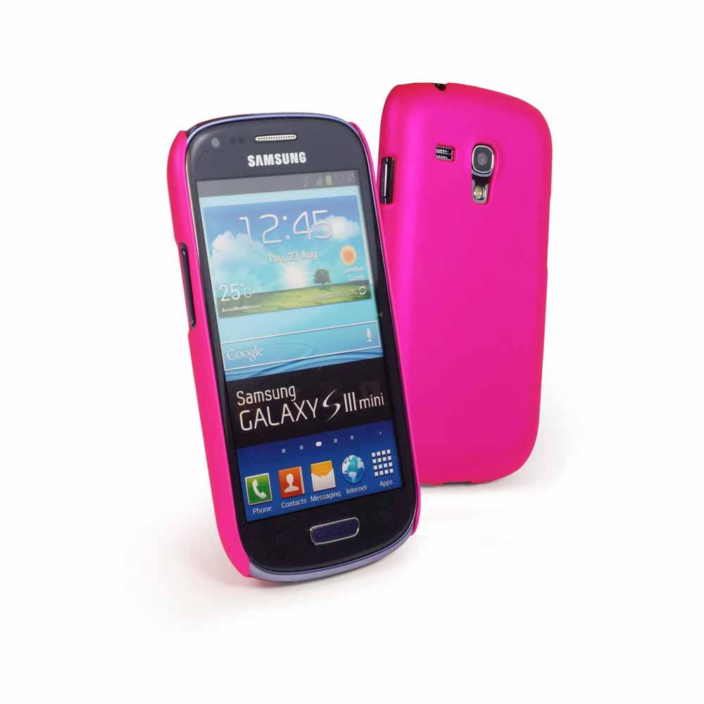 """Back"""" Hülle für Samsung Galaxy S3 Mini (inkl. Displayschutz) -pink"""