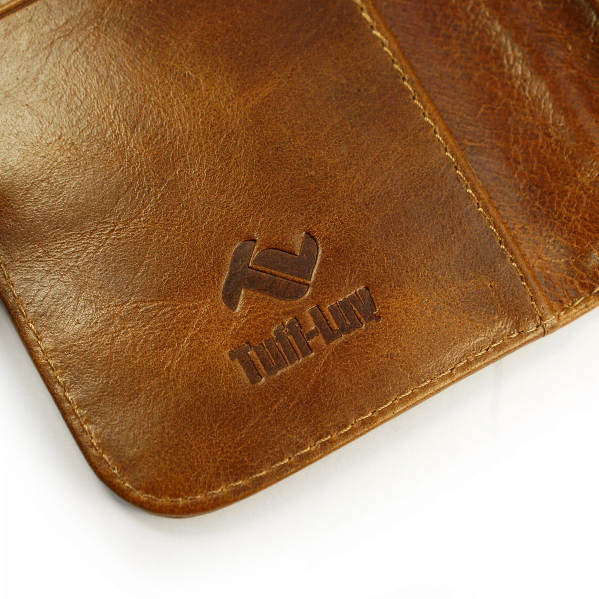 Tuff Luv Vintage Brown Wallet Windows Phone 8x / HTC Desire SV Sony