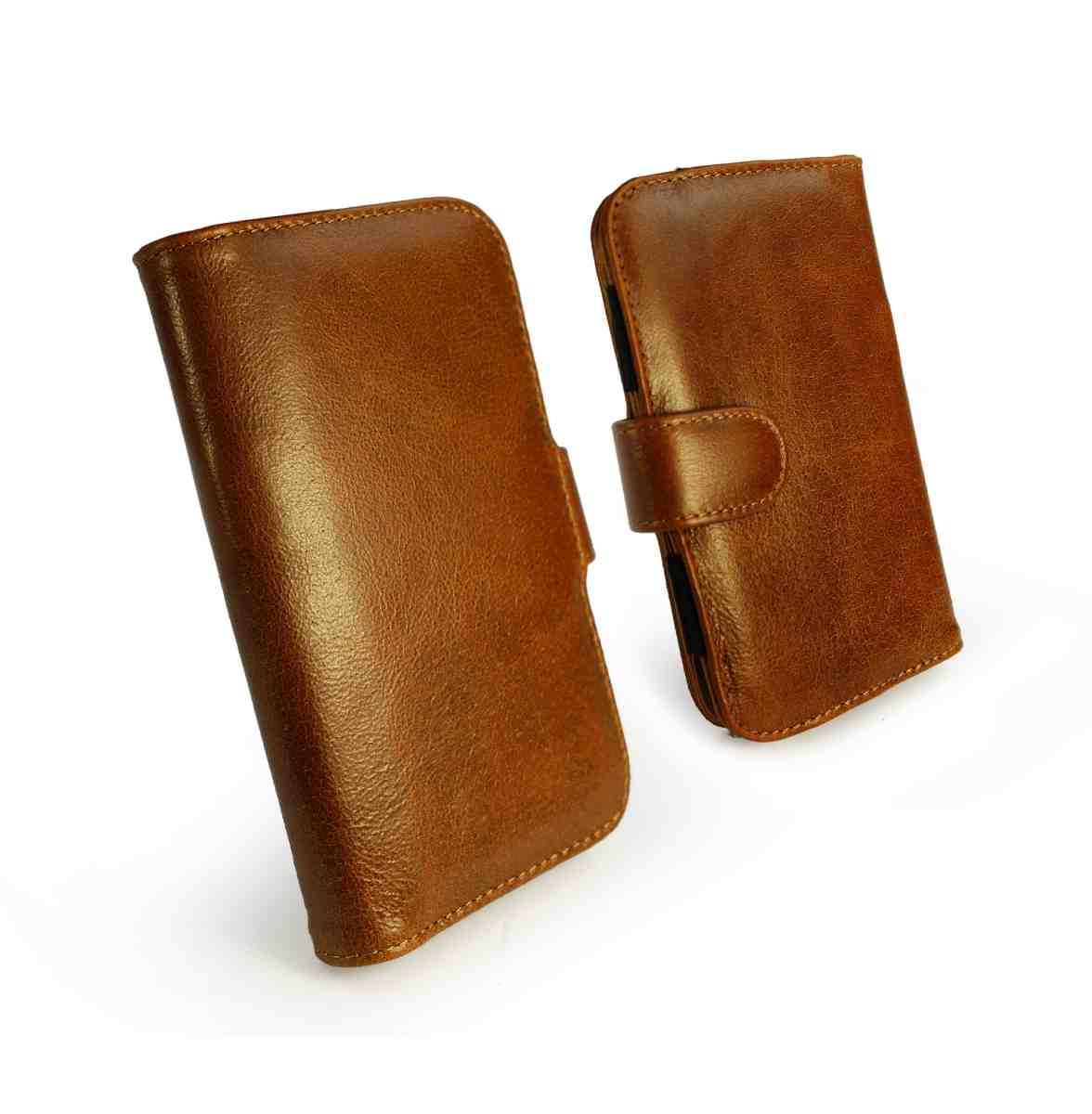 Tuff-Luv Vintage Leather Wallet Case Cover for Samsung ...