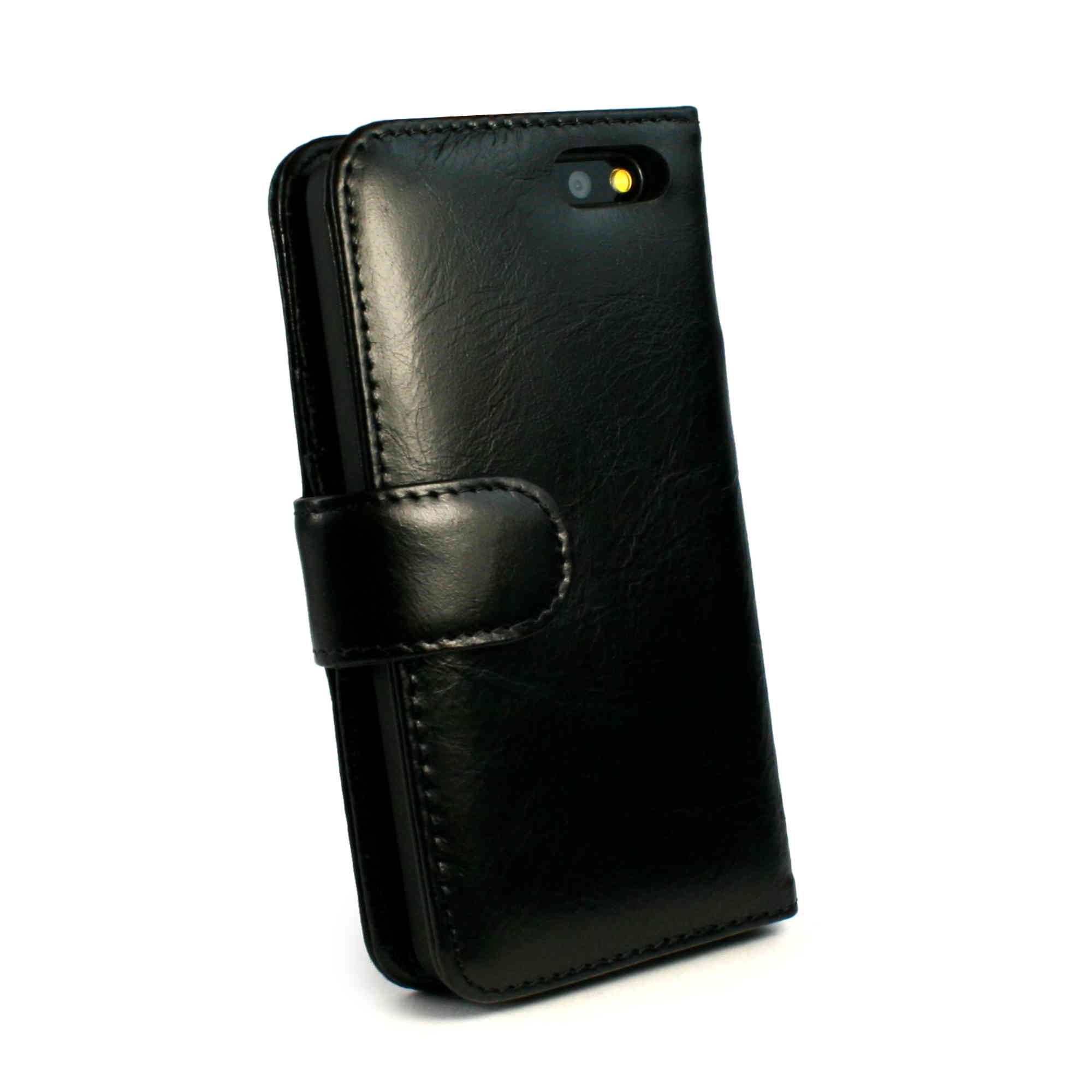 Tuff-Luv Vintage Leather Wallet-Style Case Cover for ...
