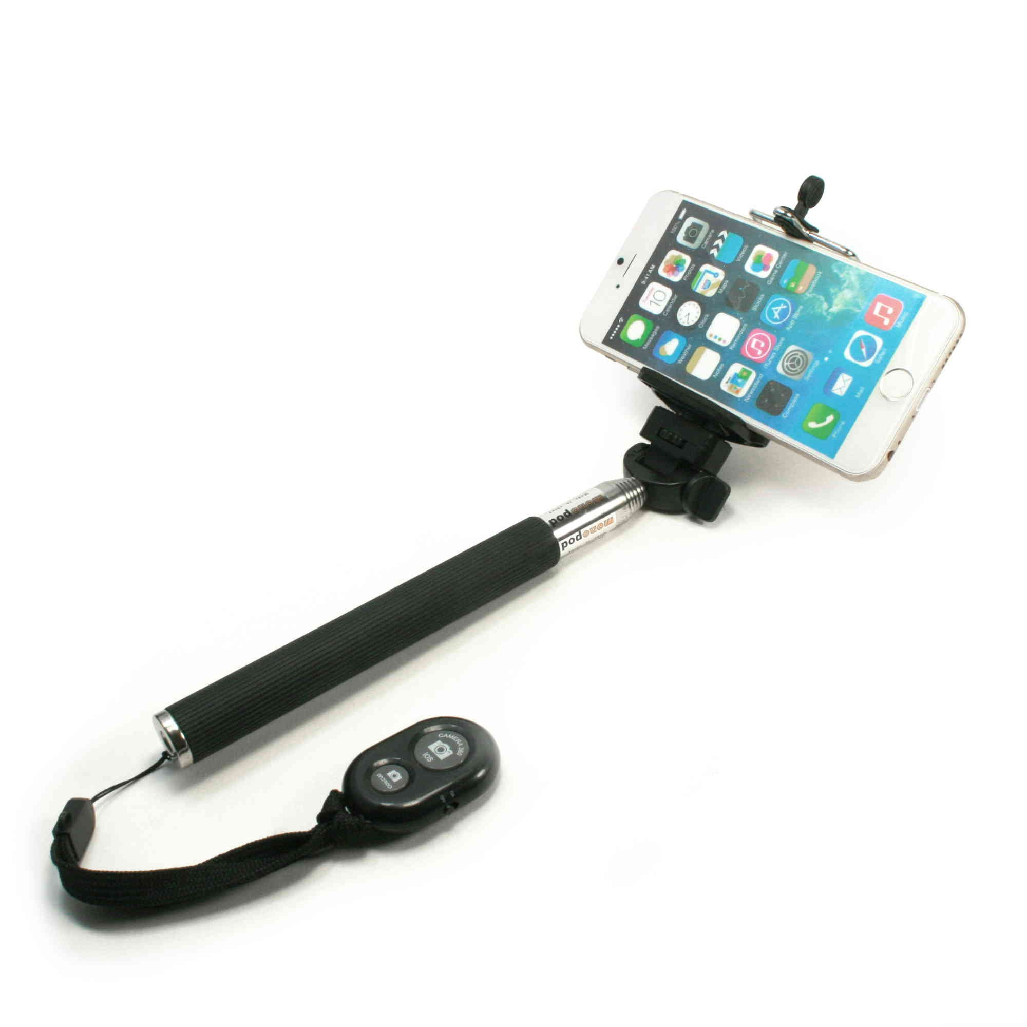 tuff luv selfie stick with bluetooth for iphones samsung htc sony no. Black Bedroom Furniture Sets. Home Design Ideas