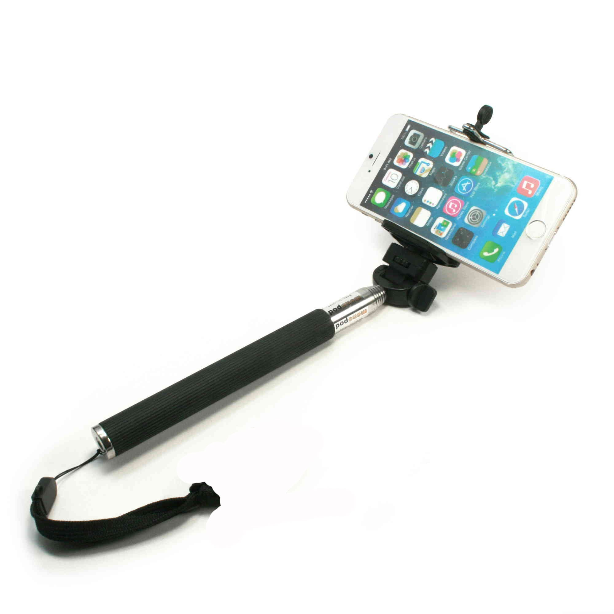 tuff luv basic selfie stick for iphones samsung htc sony nokia ebay. Black Bedroom Furniture Sets. Home Design Ideas