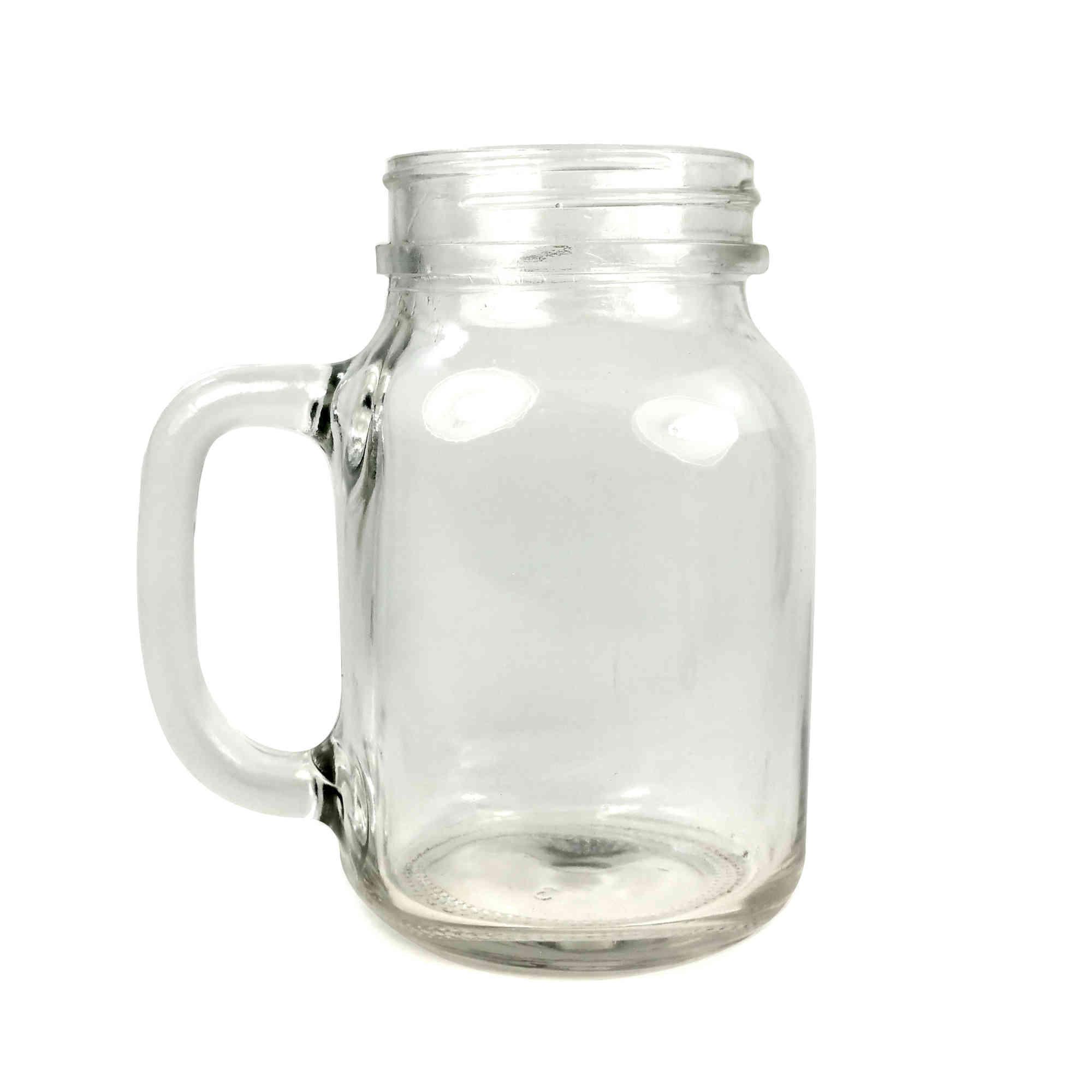Tuff luv mason drinking jar glasses 20oz 568ml ebay - Mason jar goblets ...
