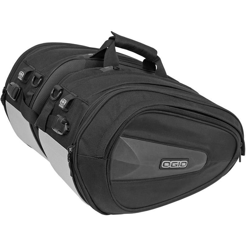 Ogio Saddle Bags Stealth Motorcycle Side Luggage Motorbike