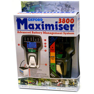 View Item Oxford Maximiser 3800 EU Battery Charger