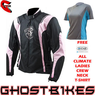 View Item ARMR Moto Jojo Ladies Jacket and FREE EDZ Top
