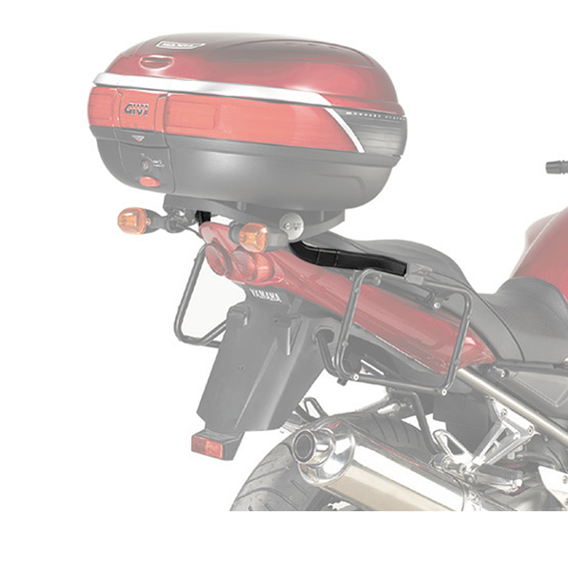 GIVI 348FZ YAMAHA FZS1000 FAZER MONORACK ARMS MONOKEY MONOLOCK TOP BOX CASE RACK Enlarged Preview