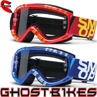 View Item Smith Fuel V.1 MAX Strobe Motocross Goggles