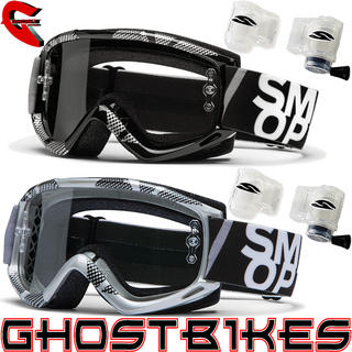 View Item Smith Fuel V.1 MAX Static Roll-Off System Motocross Goggles