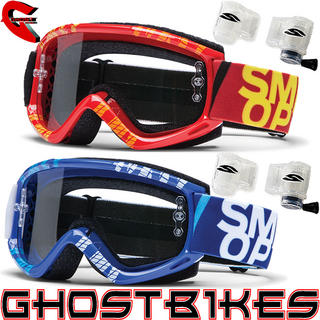 View Item Smith Fuel V.1 MAX Strobe Roll-Off System Motocross Goggles