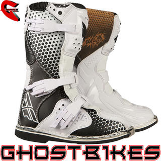 View Item Fly Racing Youth Maverik Vapour Motocross Boots