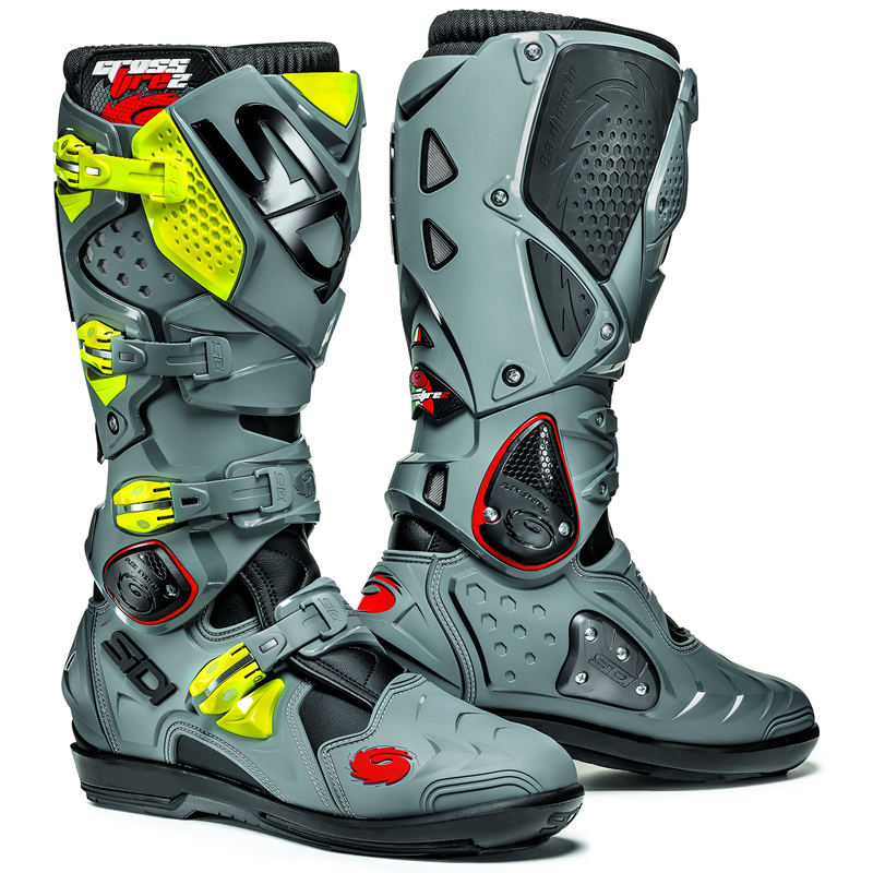 sidi crossfire 2 mx enduro off road steel toe srs motocross dirt bike moto boots ebay. Black Bedroom Furniture Sets. Home Design Ideas