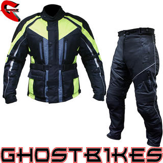 View Item Black Hazard Jacket and Trousers Kit Fluo