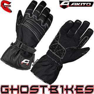 View Item Akito Metro Waterproof Motorcycle Gloves