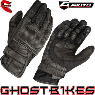 View Item Akito Summer Breeze Motorcycle Gloves