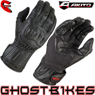 View Item Akito Speedster Motorcycle Gloves