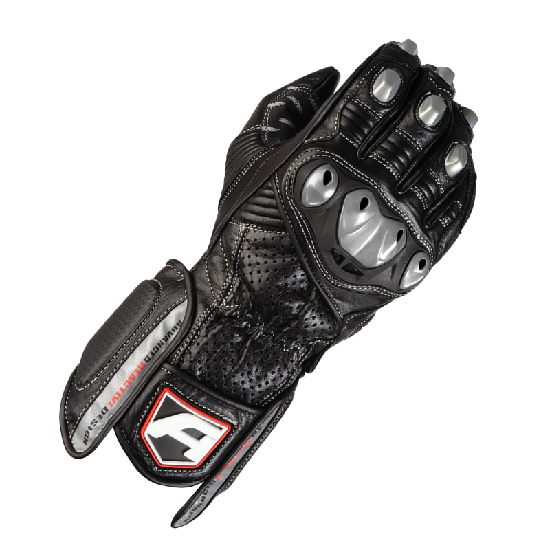 Sport Motorcycle Gloves: AKITO SPORTS RIDER LEATHER HARD KNUCKLE ARMOUR MOTORCYCLE