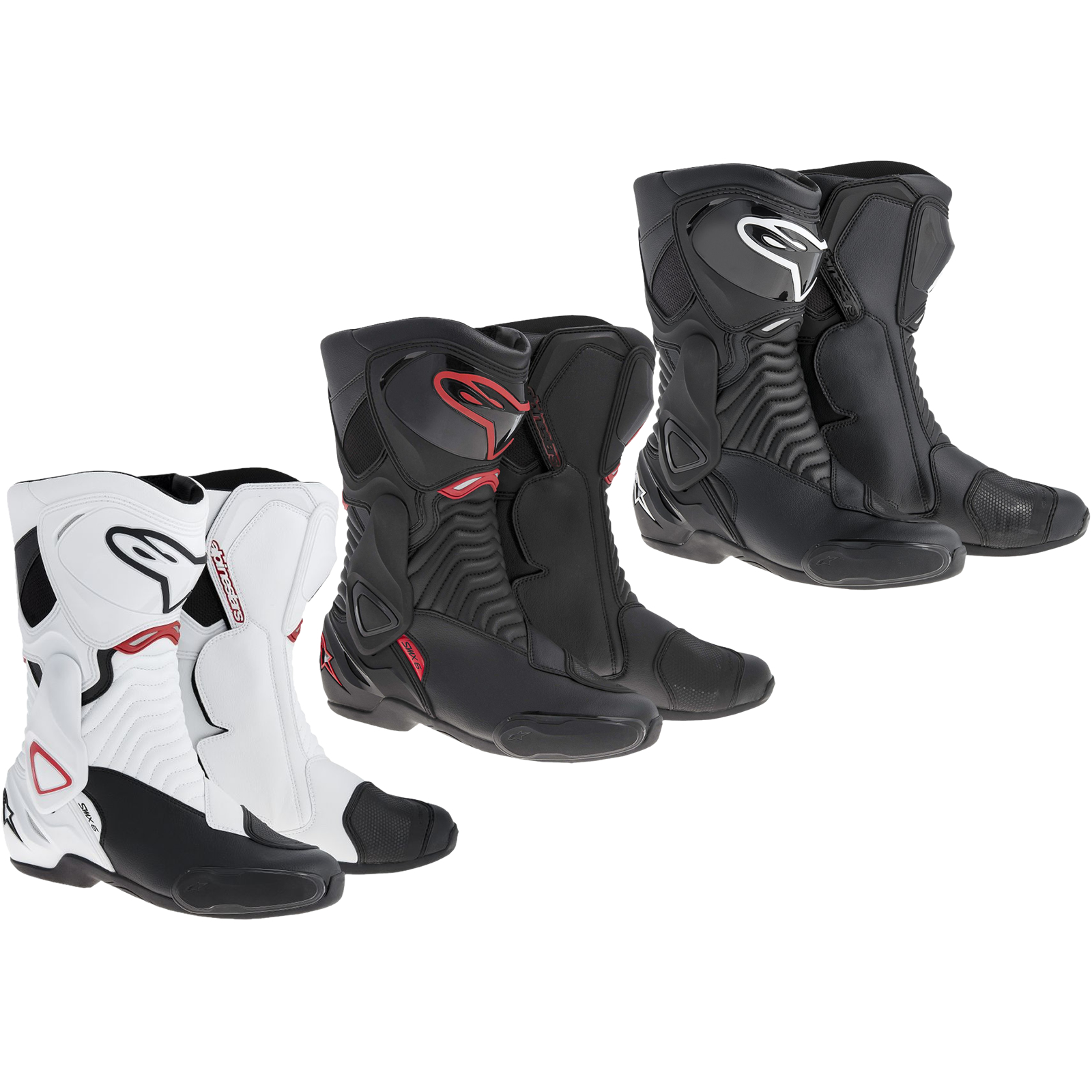 botte moto alpinestars smx six s mx 6 2014 sport course ebay. Black Bedroom Furniture Sets. Home Design Ideas