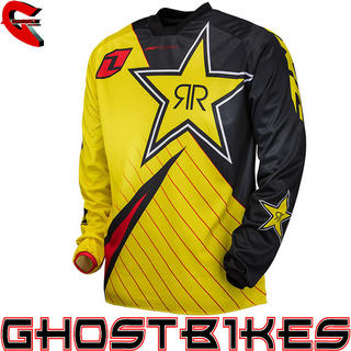 View Item One Industries 2013 Atom Rockstar Motocross Jersey
