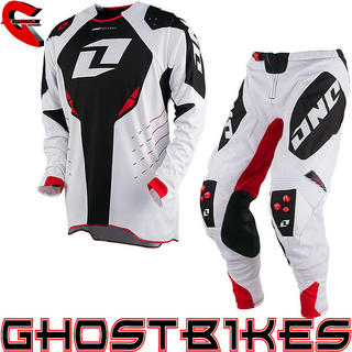 View Item One Industries 2013 Defcon White-Black-Red Motocross Kit