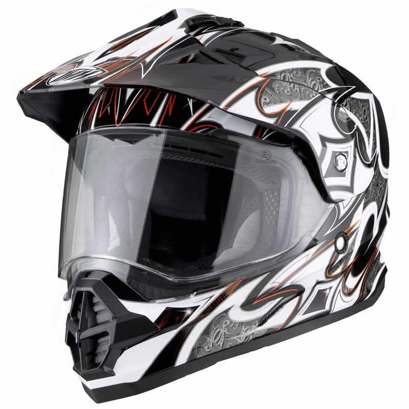 casque motocross thh tx 26 tx26 dual sport mx enduro ebay. Black Bedroom Furniture Sets. Home Design Ideas