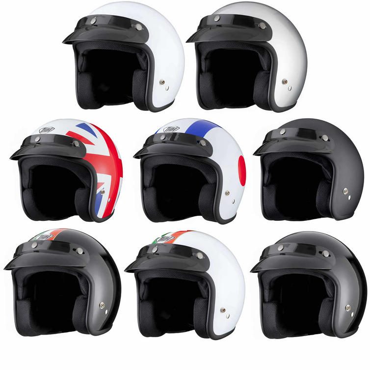 THH T-380 Open Face Cafe Helmet