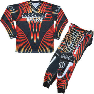 View Item Max Equipe V-16 Red Motocross Kit