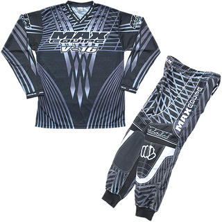 View Item Max Equipe V-16 Grey Motocross Kit