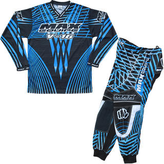 View Item Max Equipe V-16 Blue Motocross Kit