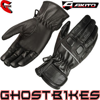 View Item Akito Trace Motorcycle Gloves