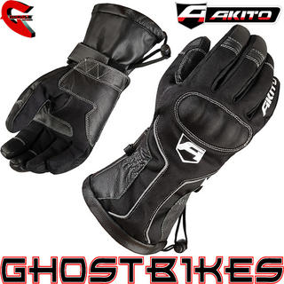 View Item Akito Station Waterproof Motorcycle Gloves