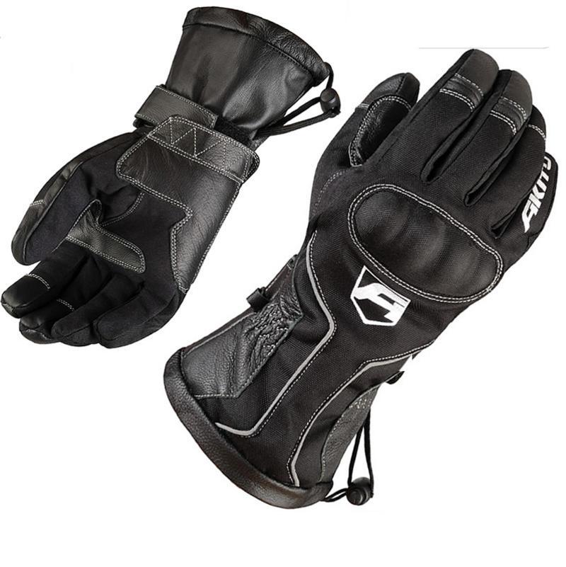 Image of Akito Station Waterproof Motorcycle Gloves