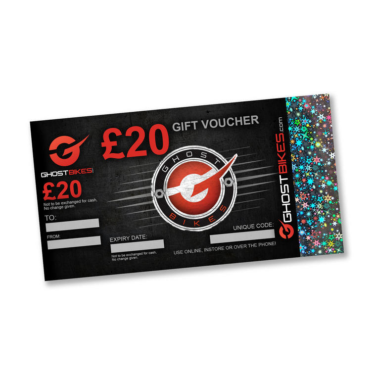 GHOSTBIKES GIFT VOUCHER £20.00