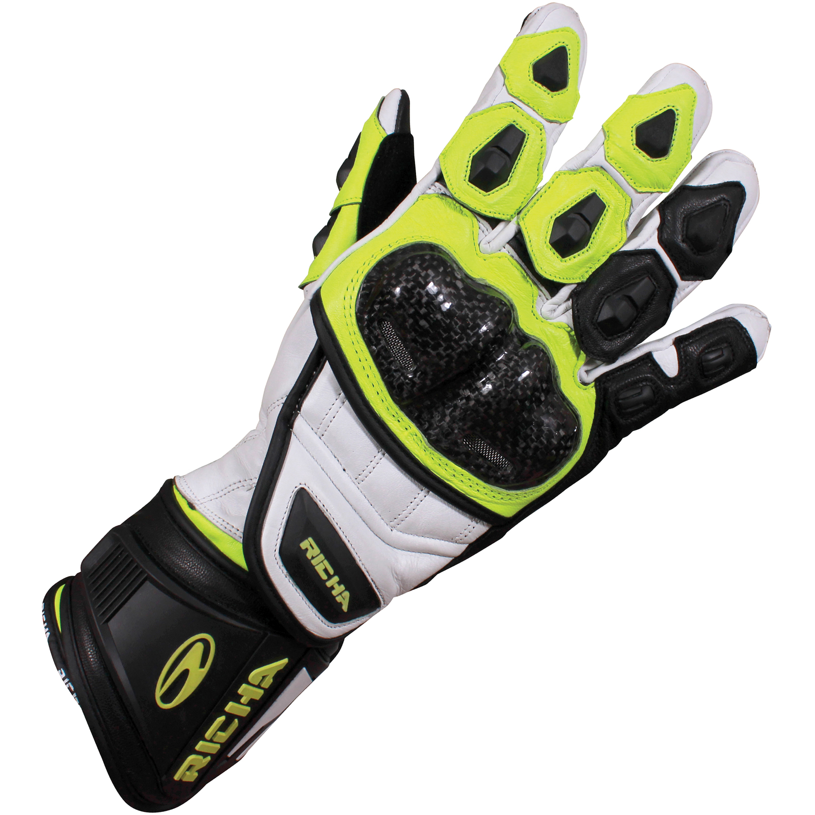 Leather motorcycle gloves best -  Racer Motorbike Gloves Caferacer Wbi