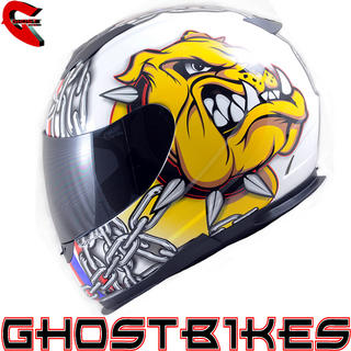 View Item MT Thunder Lightning UK-K9 Motorcycle Helmet