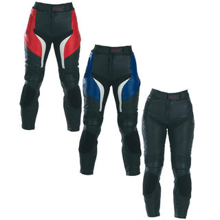 View Item Spada Predator Leather Ladies Motorcycle Trousers