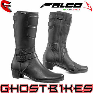 View Item Falco Dyva Ladies Waterproof Motorcycle Boots