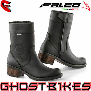 View Item Falco Ayda Ladies Waterproof Motorcycle Boots