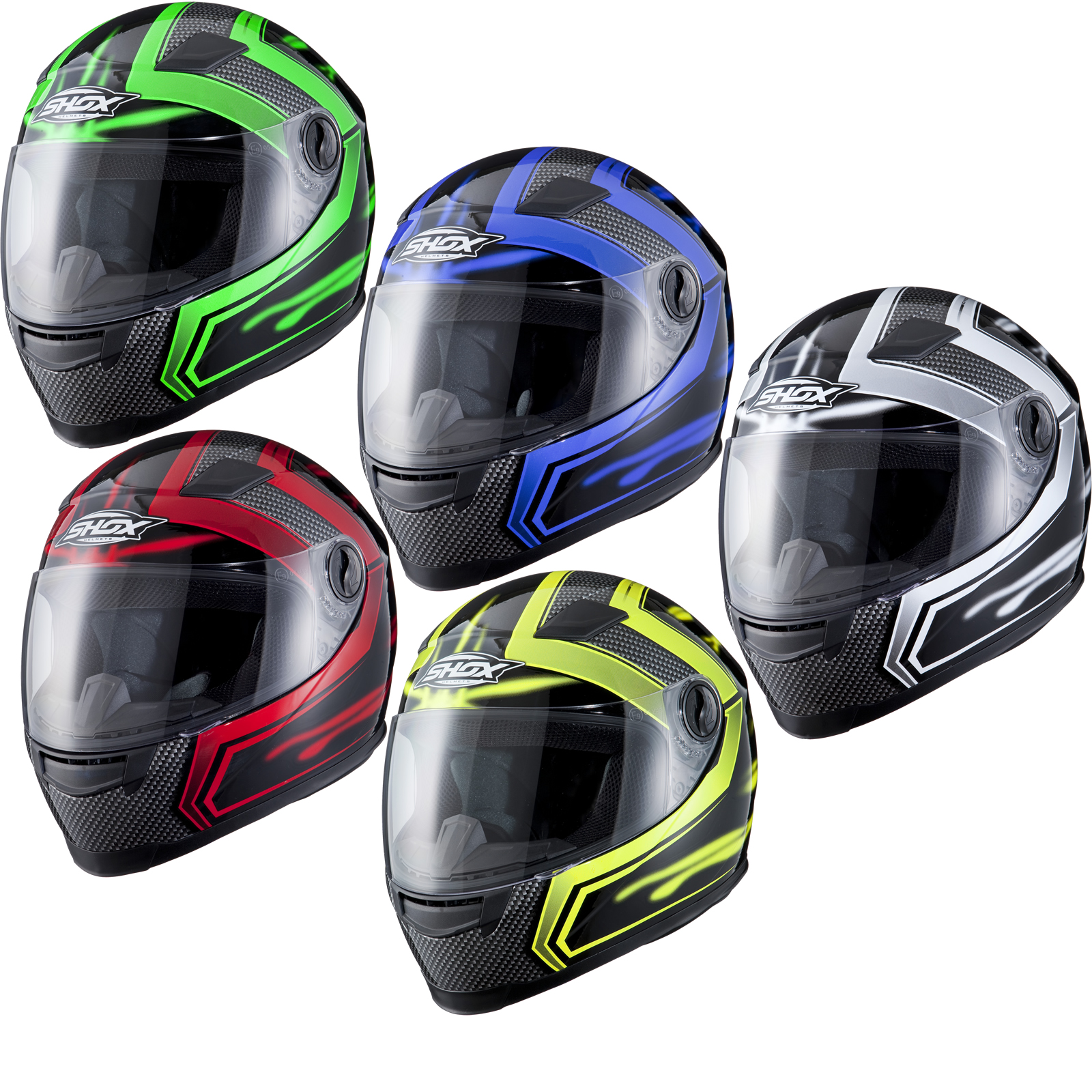 MOTO SCOOTER CASQUE ROUTE MOTARD MOTARDE VISIÈRE Enlarged Preview