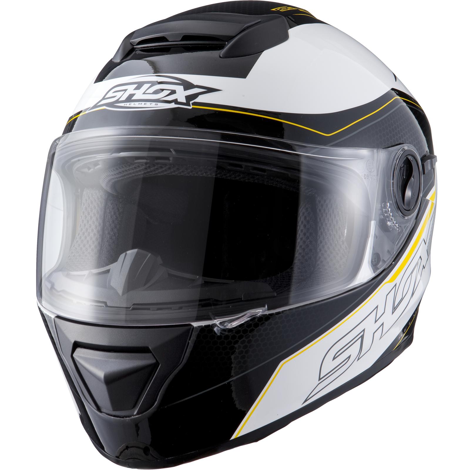 shox assault tracer sonnenblende motorrad roller mofa helm. Black Bedroom Furniture Sets. Home Design Ideas